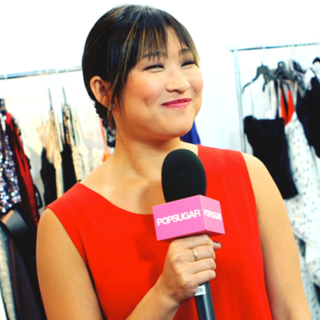 Jenna Ushkowitz's Emmys 2012 Hair and Makeup