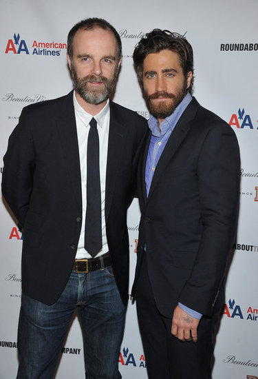 Jake Gyllenhaal posed for a photo with Brian O'Byrne.