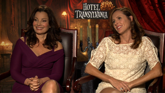 Molly Shannon and Fran Drescher Talk Adam Sandler and Making Hotel Transylvania