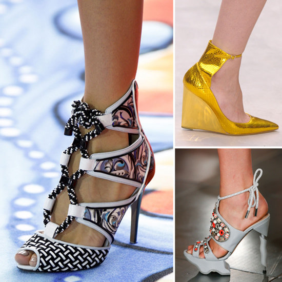 Sure, we loved seeing what clothing New York and London had to offer, but we were just as excited about the shoes. See the best of shoes from New York and London so you can plan on what to splurge on next Spring.