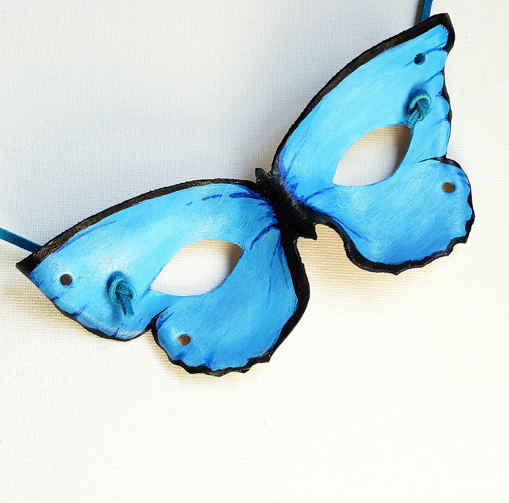 Leather Butterfly Mask ($28)