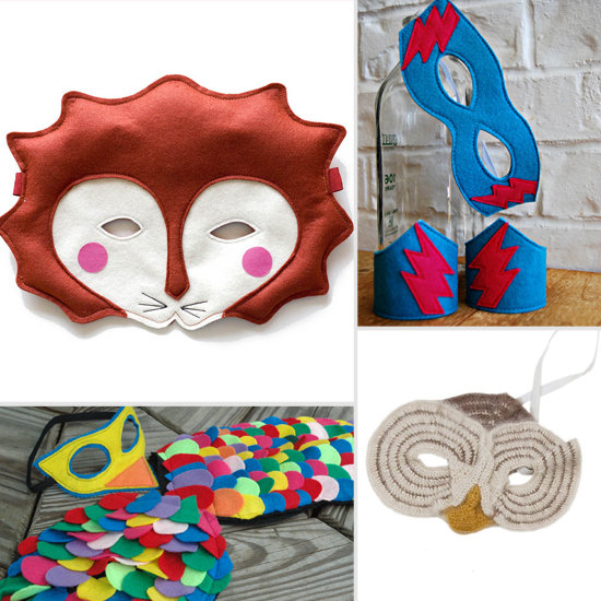 Who's that Masked Tot? 12 Perfect Masks For Halloween and Pretend Play