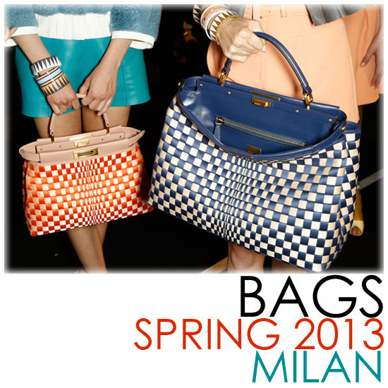 Bags! The Best From Milan's Spring 2013 Runways