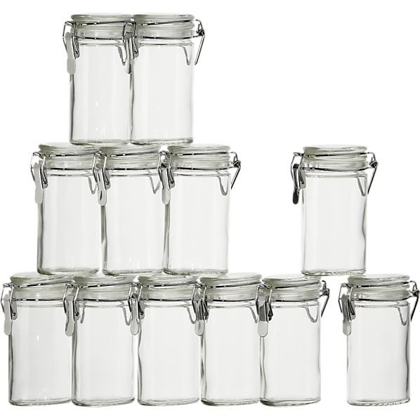 Glass Jars For Bulk Items