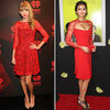 Red Lace Dresses (Celebrity Pictures and Shopping)