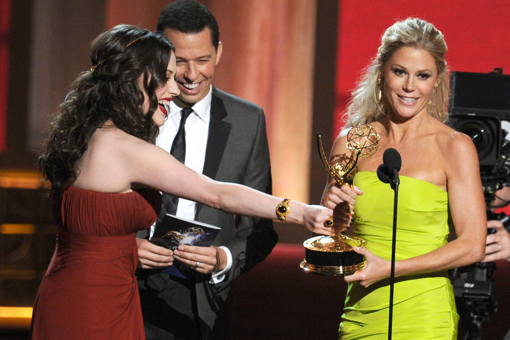 Julie Bowen accepted the award for her role on Modern Family.