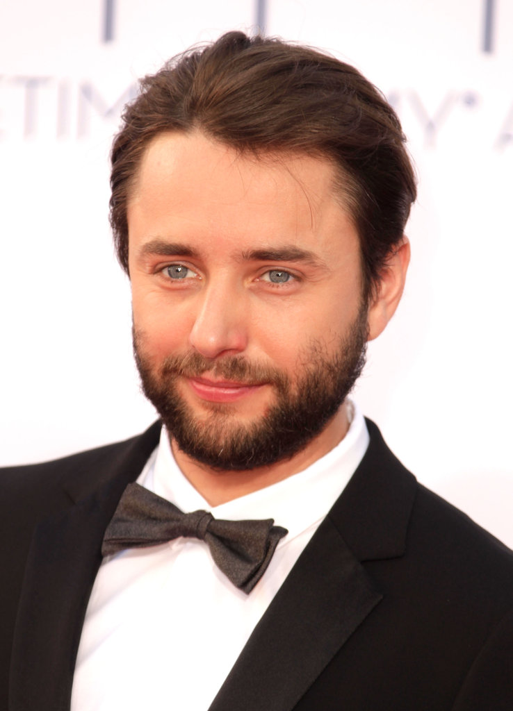 Mad Men's Vincent Kartheiser posed for pictures on the red carpet.