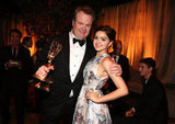 Modern Family's Eric Stonestreet and Ariel Winter celebrated the show's big win.