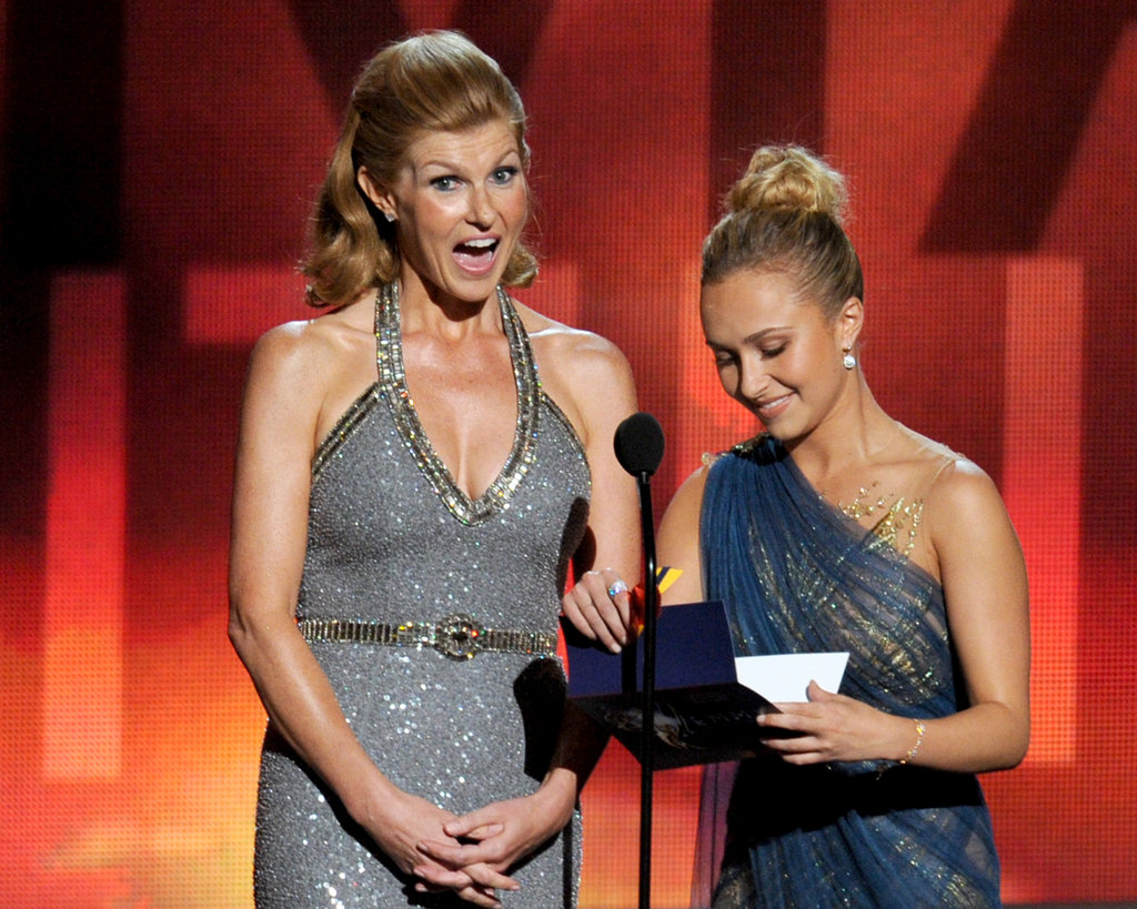 Nashville's Connie Britton and Hayden Panettiere presented an award together.