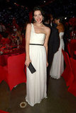 Jessica Paré attended the Governors Ball.
