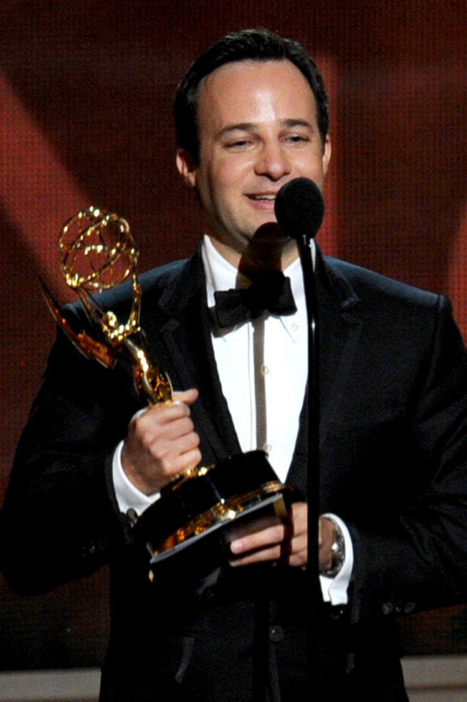 Danny Strong accepted the Emmy for his writing on Game Change.