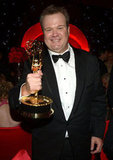 Eric Stonestreet held up his Emmy at the Governors Ball.
