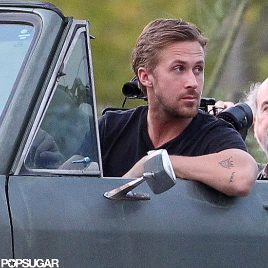 Ryan Gosling got in front of the cameras.