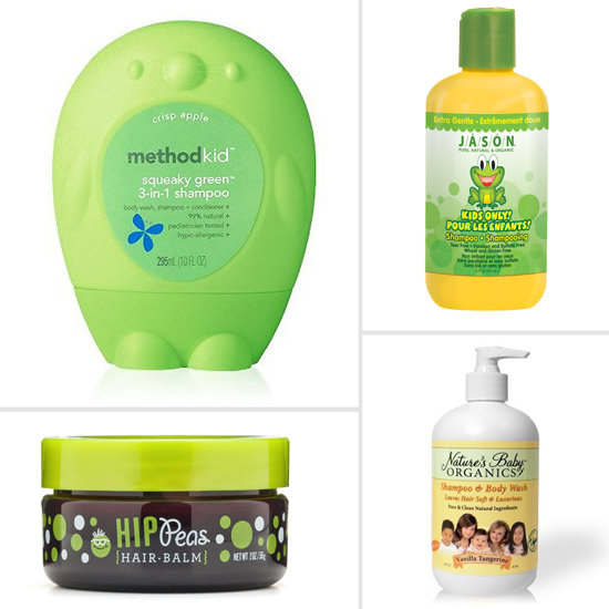 All-Natural Hair Products For Tots