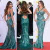 Pictures of Modern Family Star Sofia Vergara in Zuhair Murad Resort 2012 Gown at the 2012 Emmy Awards