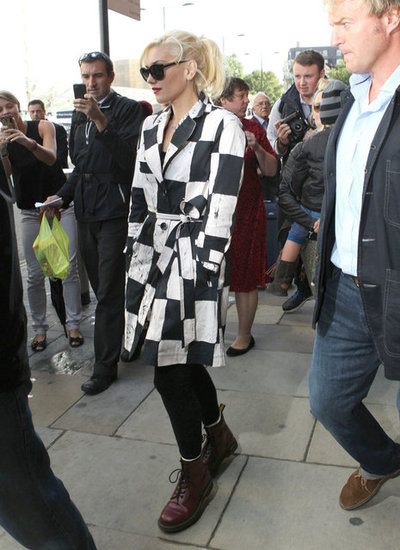 Gwen Stefani Celebrates Push and Shove's Release in London