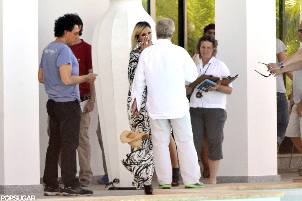Cameron Diaz and Javier Bardem filmed for The Counselor in Spain.