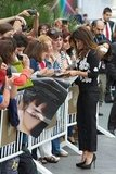 Penelope Cruz signed autographs in Spain.