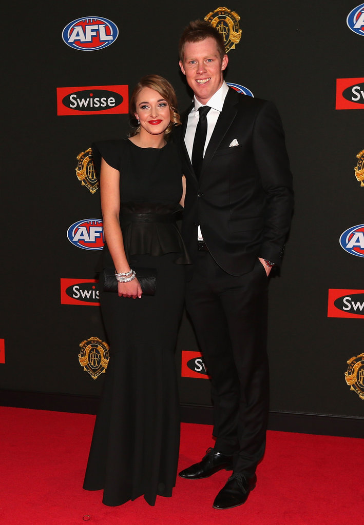 Carly Ziegler and Jack Riewoldt