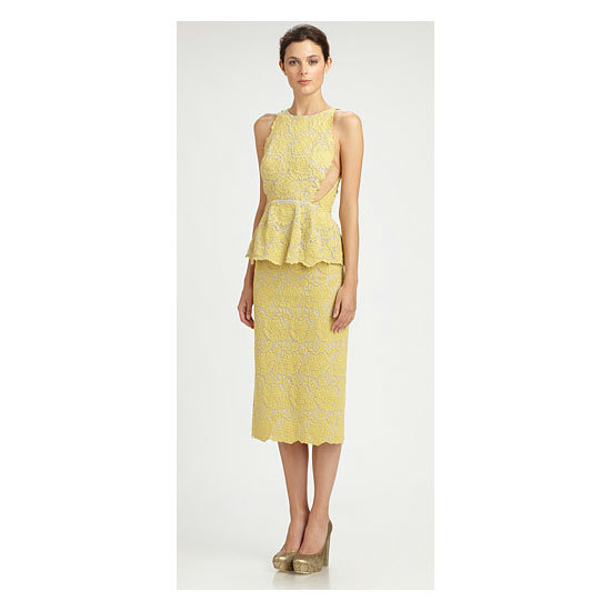 Dress, approx $4,069, Stella McCartney at Saks Fifth Avenue