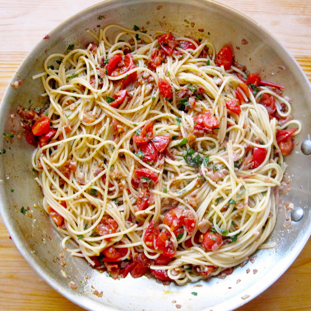 Bacon and Tomato Pasta Recipe 2011-08-19 11:49:41