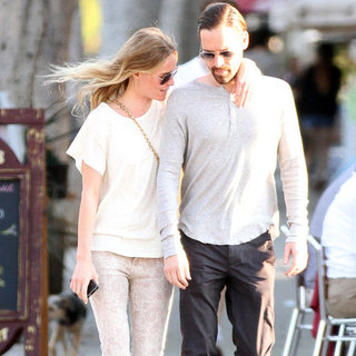 Kate Bosworth Wearing Paisley Jeans