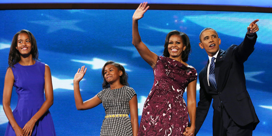 "Michelle Obama on Family Dinners and Her ""Inquisitive"" Girls"