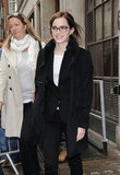 Emma Watson arrived at BBC Radio in London.