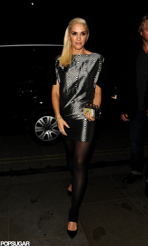 Gwen Stefani Rocks a Hot Look in London