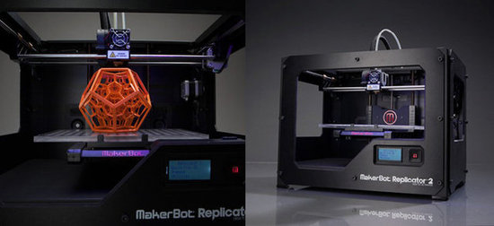 Replicator 2 Desktop 3D Printer ($2,199)