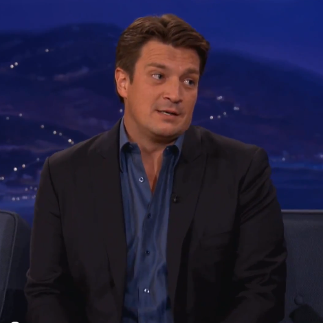 Nathan Fillion Talks About Siri on Conan O'Brien | Video