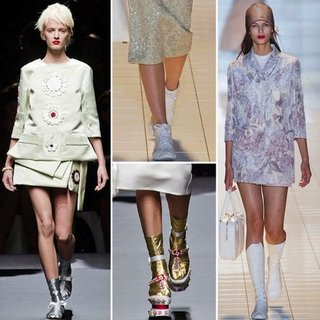 Prada's Toe-Sock Shoes Spring 2013 | Poll