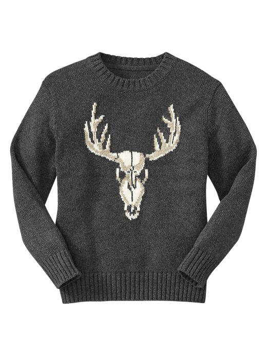 Gap Intarsia Deer Sweater