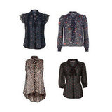 Shop More Sheer Blouses
