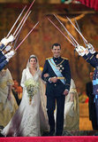 Prince Felipe and Letizia Ortiz   The Bride: ‪Letizia Ortiz, former divorced journalist. ‬ The Groom: Felipe, Prince of Asturias, the heir apparent to the Spanish throne. When: May 22, 2004. No one suspected the serious relationship until they announced t