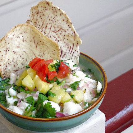 Easy Recipe For Hawaiian Coconut Pineapple Ceviche