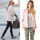 Loving Kristin Cavallari's soft-pink blazer? Shop it for yourself.