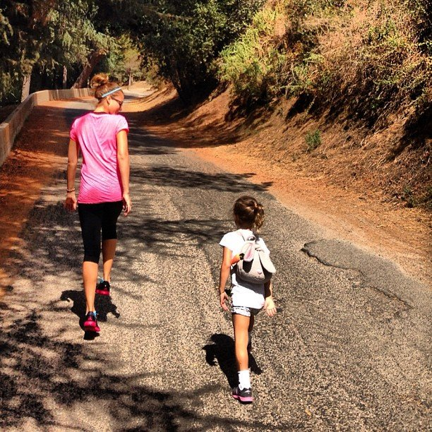 Jessica Alba and Honor Warren went for a mother-daughter hike. Source: Instagram user cash_warren