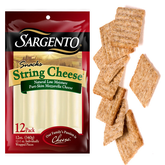 String Cheese and Crackers