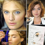 Blue Eye Makeup Trend Estee Lauder Anthony Vaccarello Paris