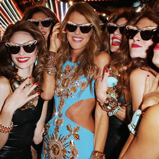 Anna Dello Russo For H&M Launch Party in Paris