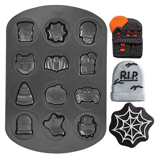 Halloween Cookie Molds 