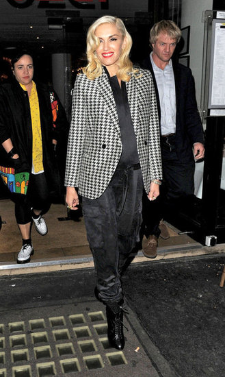 Gwen Stefani stepped out in London.