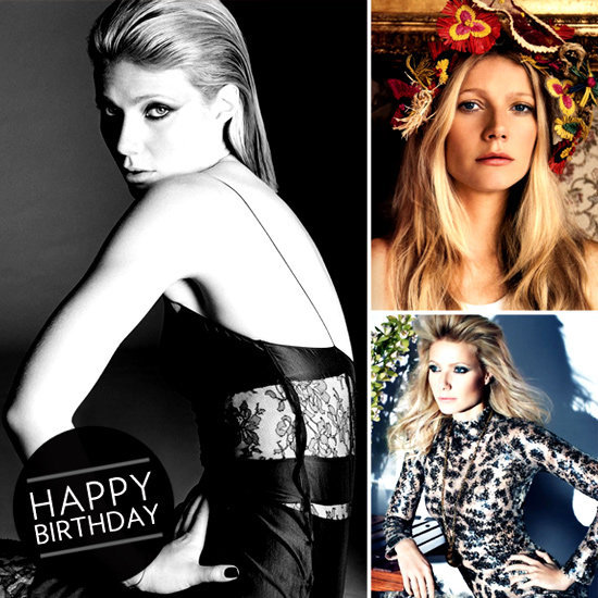 We wished the always-beautiful Gwyneth Paltrow happy birthday with a look at her most stunning fashion spreads.
