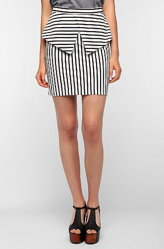 The stripes on this Sparkle & Fade Peplum Pencil Skirt ($40, originally $59) will look just as cool with tights and a chunky sweater as they do with bare legs and pumps.