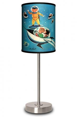 Lamp-In-A-Box Jack & Jill Space Kids Table Lamp