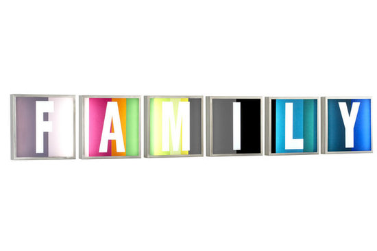 The Novogratz Light Up Family Set For CB2