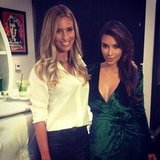 Renee Bargh caught up with Kim Kardashian for a new interview. Source: Instagram user reneebargh