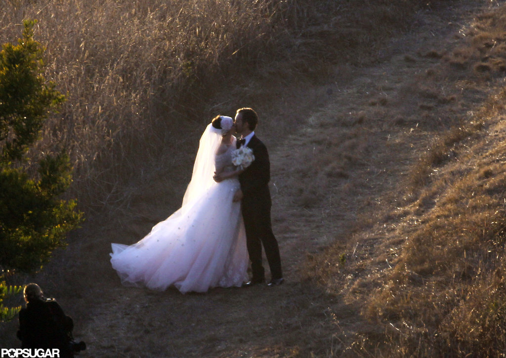 Anne Hathaway and Adam Shulman tied the knot on Sept. 29, in an intimate ceremony in Big Sur, CA.