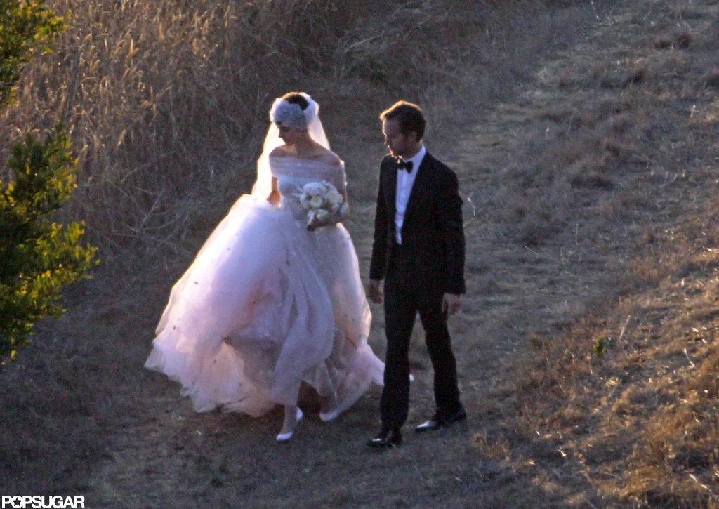 Anne Hathaway and Adam Schulman got married in Big Sur.